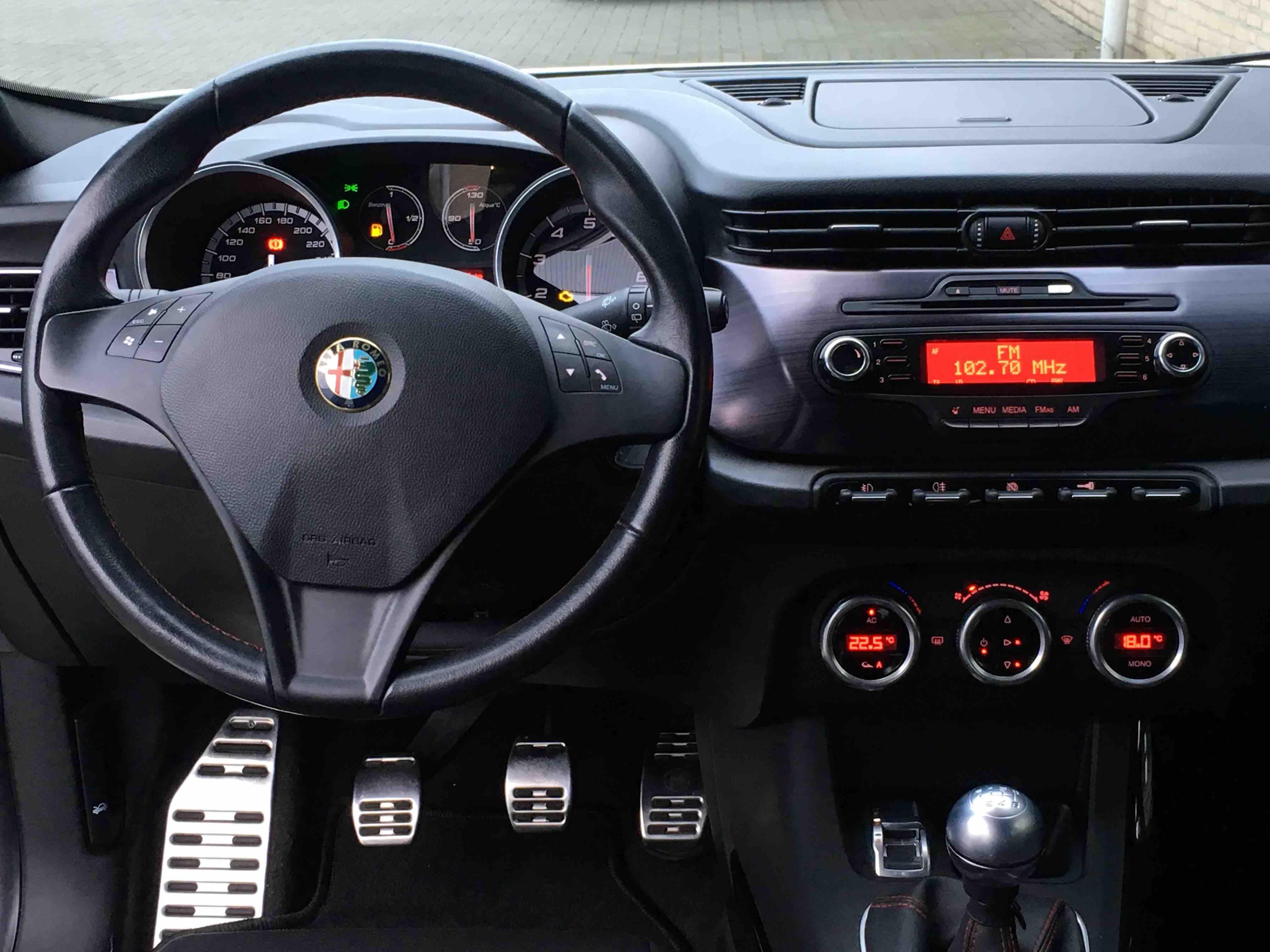 Alfa Romeo Giulietta 1.4T Distinctive